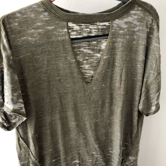 We The Free Tops - Free People cut-out t-shirt